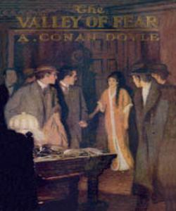 Cover Art for The Valley of Fear