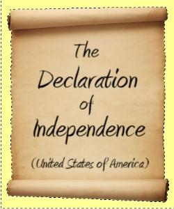 Cover Art for Declaration of Independence
