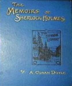 Cover Art for The Memoirs of Sherlock Holmes
