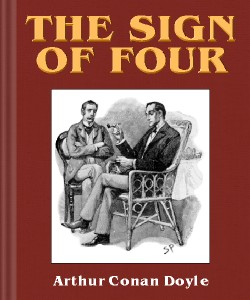 Cover Art for The Sign of Four