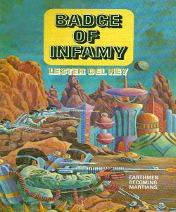 Cover Art for Badge of Infamy