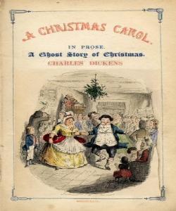 Cover Art for A Christmas Carol