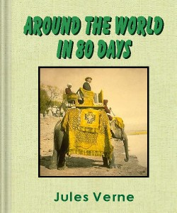 Cover Art for Around the World in 80 Days