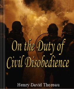 Cover Art for On the Duty of Civil Disobedience