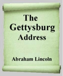 Cover Art for The Gettysburg Address