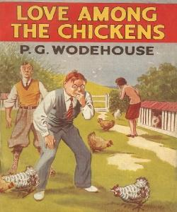 Cover Art for Love Among the Chickens