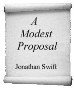 Cover Art for A Modest Proposal