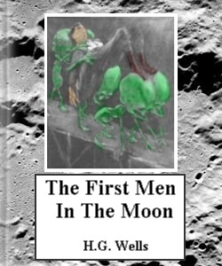 Cover Art for The First Men in the Moon