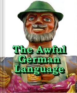 Cover Art for The Awful German Language