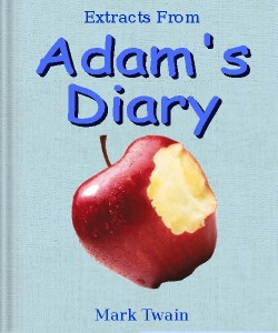 Cover Art for Extracts from Adam's Diary