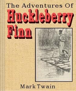 Cover Art for The Adventures of Huckleberry Finn
