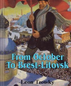 Cover Art for From October to Brest-Litovsk