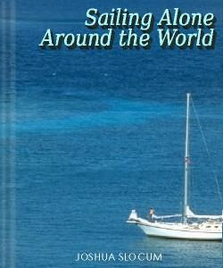 Cover Art for Sailing Alone Around the World