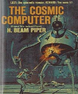 Cover Art for The Cosmic Computer