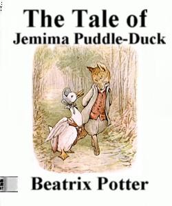 Cover Art for The Tale of Jemima Puddle-Duck