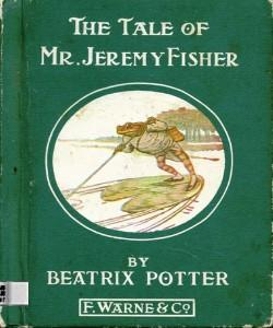 Cover Art for The Tale of Mr Jeremy Fisher