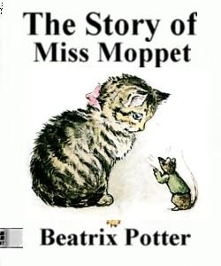 Cover Art for The Story of Miss Moppet