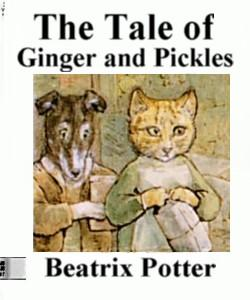 Cover Art for The Tale of Ginger and Pickles
