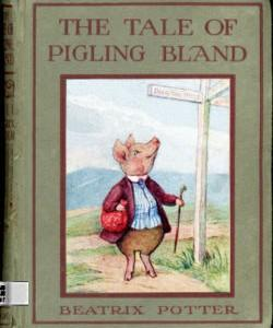 Cover Art for The Tale of Pigling Bland