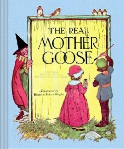 Cover Art for The Real Mother Goose