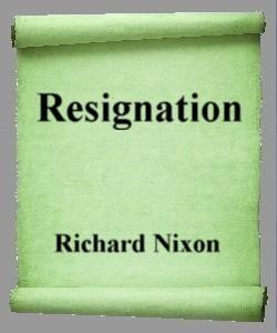 Cover Art for Resignation