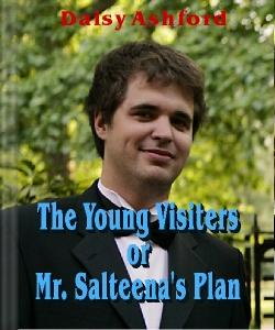 Cover Art for The Young Visiters, or Mr. Salteena's...