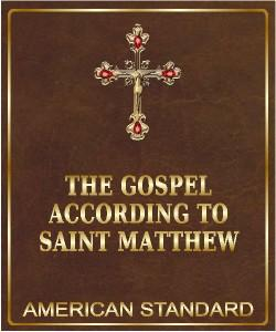 Cover Art for The Gospel According to Saint Matthew