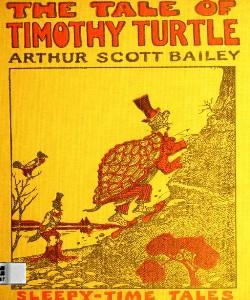 Cover Art for The Tale of Timothy Turtle