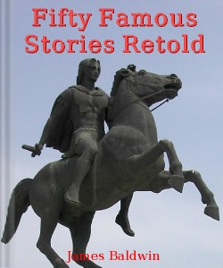 Cover Art for Fifty Famous Stories Retold