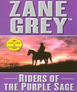 Cover Art for Riders of the Purple Sage