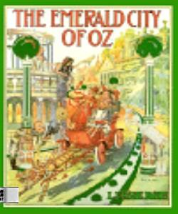 Cover Art for The Emerald City of Oz