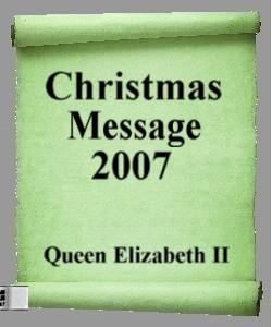 Cover Art for Christmass Message 2007