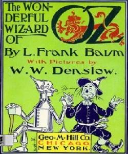 Cover Art for The Wonderful Wizard of Oz