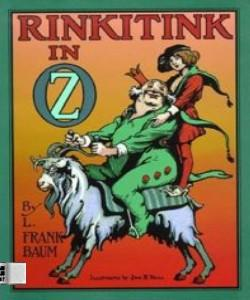 Cover Art for Rinkitink in Oz