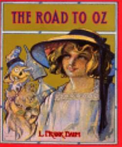 Cover Art for The Road to Oz