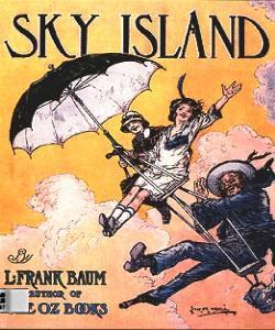 Cover Art for Sky Island