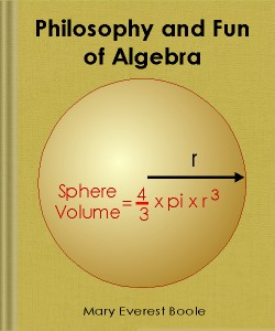 Cover Art for Philosophy and Fun of Algebra