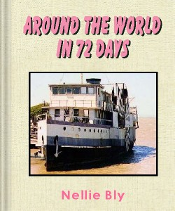Cover Art for Around the World in Seventy-Two Days