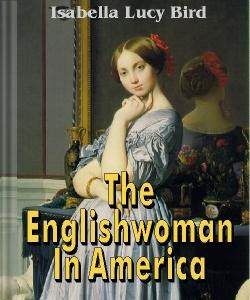 Cover Art for The Englishwoman in America