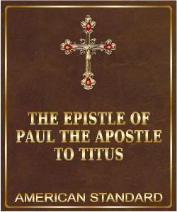 Cover Art for The Epistle of Paul to Titus