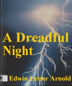 Cover Art for A Dreadful Night