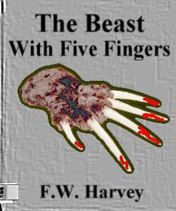 Cover Art for The Beast With Five Fingers