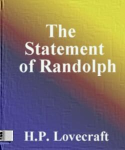 Cover Art for The Statement of Randolph