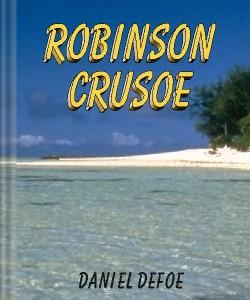 Cover Art for Robinson Crusoe