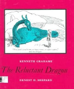 Cover Art for The Reluctant Dragon