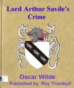 Cover Art for Lord Arthur Savile's Crime