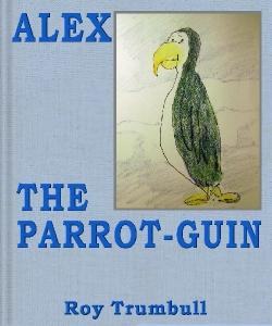 Cover Art for Alex the Parrot-guin