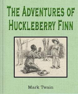 Cover Art for The Adventures of Huckleberry Finn