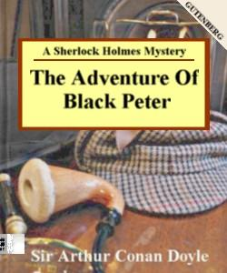 Cover Art for The Adventure of Black Peter:A Sherlo...