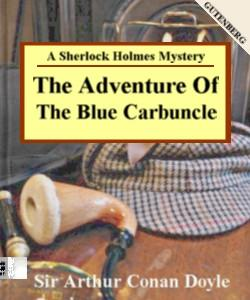 Cover Art for The Adventure of the Blue Carbuncle:A...